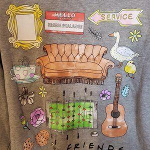 FRIENDS TV show sweatshirt NWOT